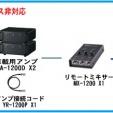 TOA選挙用大型車載システム240W 角型ホーンスピーカー2個[GE-240S2]